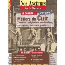 N° 14 : Les Métiers du Cuir - Nos ancêtres, Vie & Métiers