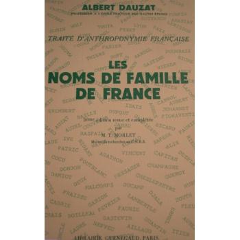 Les noms de famille en France