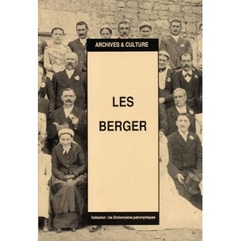 Les Berger : Dictionnaire patronymique (livre d'occasion)