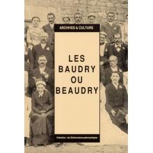 Les Baudry (Beaudry) : Dictionnaire patronymique (livre d'occasion)