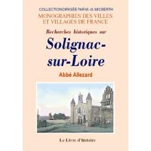 Solignac-sur-Loire (Recherches historiques sur)