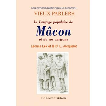 Le Langage populaire de Mâcon et des environs