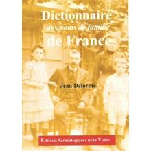 Dictionnaire des noms de famille de France