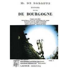 Histoire des Ducs de Bourgogne - Tome V