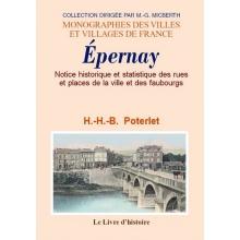 Notice historique et statistique des rues et places de la ville et des faubourgs d'Epernay