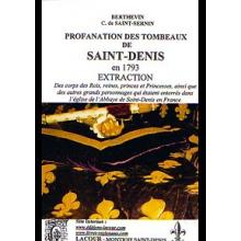 Profanation des tombeaux de Saint-Denis en 1793