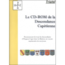 Descendance Capétienne (CD-Rom - Edition 2016)