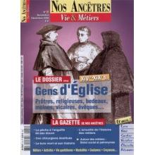 N° 22 : Gens d'Eglise - Nos ancêtres, Vie & Métiers