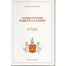Généalogie de la famille Parent de Lannoy