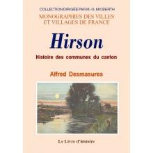 Hirson (Histoire des communes du canton de)