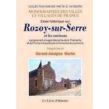 Essai historique sur Rozoy-sur-Serre et les environs - Supplément