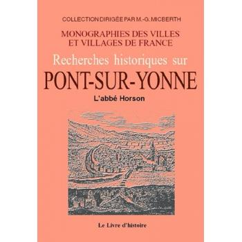 Pont-sur-Yonne (Histoire de)