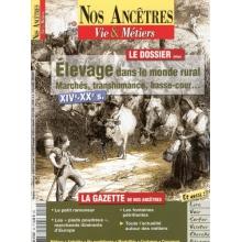 N° 30 : Elevage dans le monde rural - XIVè-XXè siècles - Nos ancêtres, Vie & Métiers
