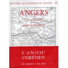Histoire des diocèses de France - Angers (broché)