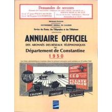 Annuaire officiel - Département de Constantine 1950