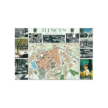 Plan des rues de tlemcen 1958 la boutique geneanet for Plan tlemcen