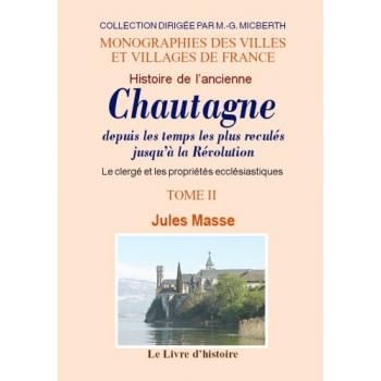 Histoire de l'ancienne Chautagne - Tome II