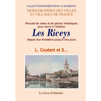 Riceys (Histoire des)