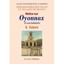 Oyonnax (Notice sur) et son industrie