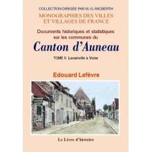 Documents historiques et statistiques sur les communes du canton d'Auneau - Tome II