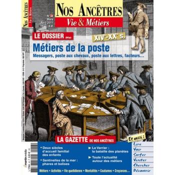 N° 48 : Métiers de la poste - Nos ancêtres, Vie & Métiers