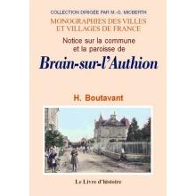Brain-sur-l'Authion (Notice sur la commune et la paroisse de)