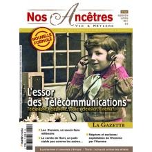 N° 51 : L'essor des télécommunications - Nos ancêtres, Vie & Métiers