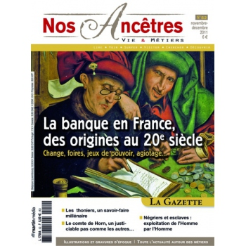 N° 52 : La banque en France, des origines au XXe siècle - Nos ancêtres, Vie & Métiers