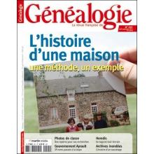 N°201 - Août Septembre 2012 - Revue Française de Généalogie