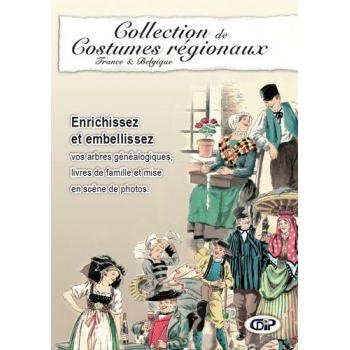 Collection de costumes régionaux - France et Belgique (CD-Rom)