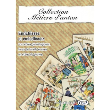 Collection Métiers d'antan (CD-Rom)
