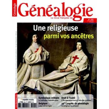 N°205 - Avril Mai 2013 - Revue Française de Généalogie