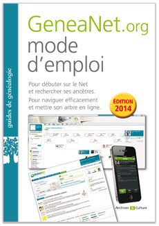 Nouveau, le guide GeneaNet.org mode d'emploi