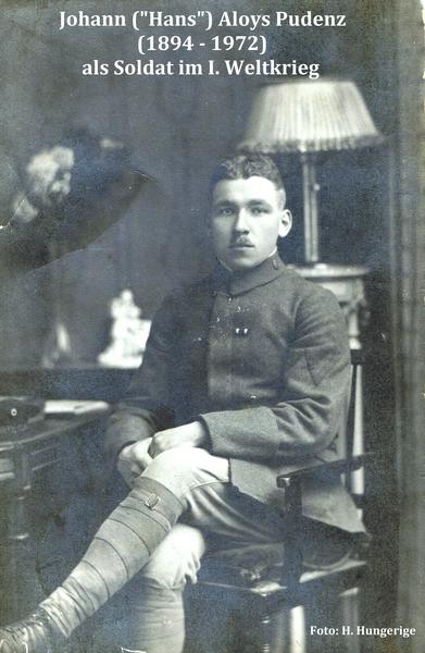 Hans Pudenz um 1916