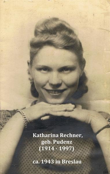 Katharina Pudenz um 1943