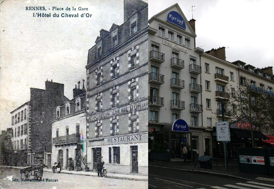 Rennes - Place de la Gare