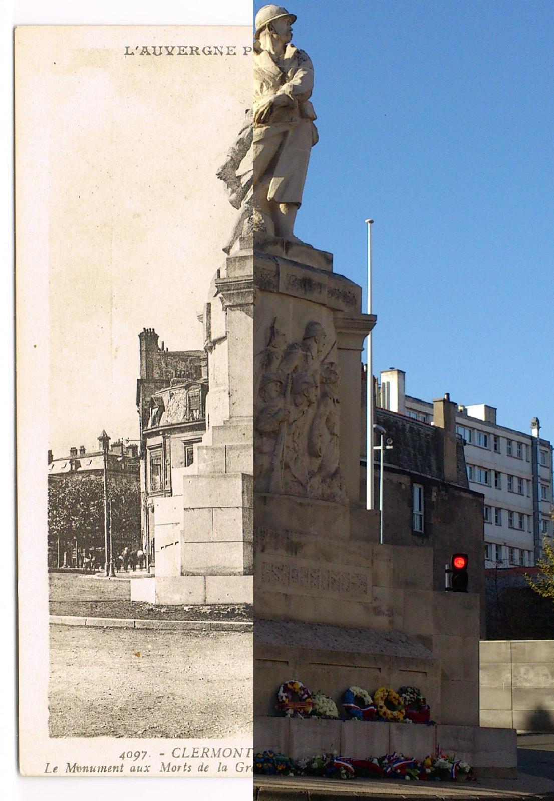 Clermont-Ferrand - 1914-1918 - Clermont-Ferrand - INSEE 63113 - Monument aux Morts (déplacé ?) - voir au cimetière des Carmes le Monument de 1914-1918 -