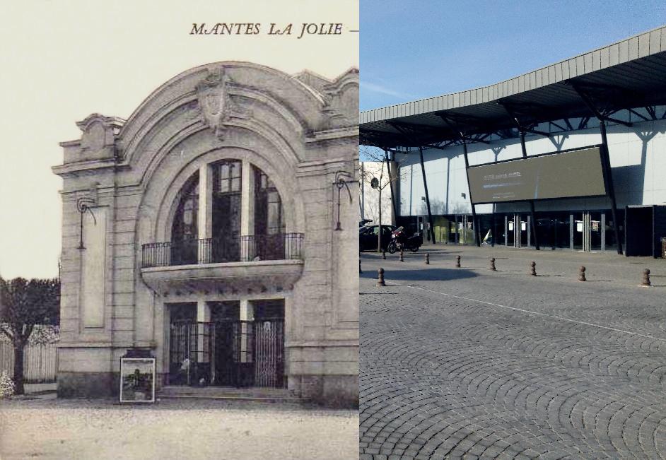 Mantes-la-Jolie - Le Théâtre Place de Lorraine.
