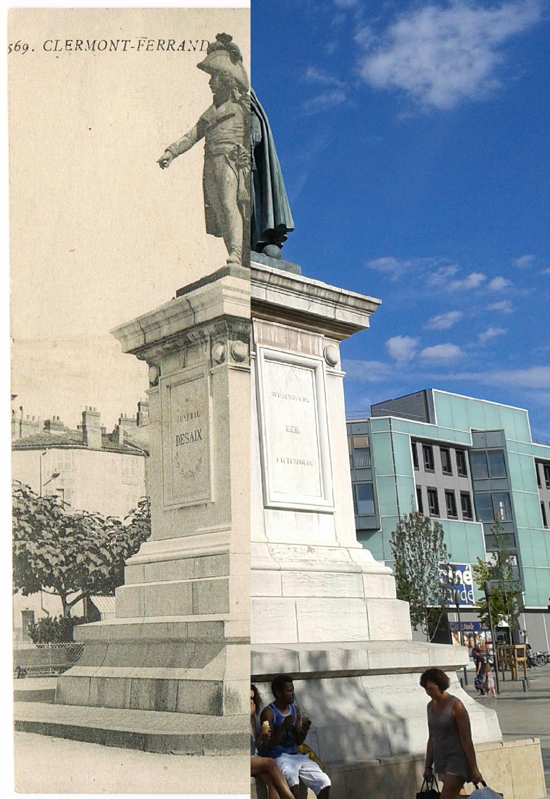 Clermont-Ferrand - Clermont-Ferrand - INSEE 63113 - Monument du Général Desaix né le 17 08 1768 au Château de St Hilaire à Ayat-sur-Sioule, décédé à Marengo le 14 06 1800. Ref.569.