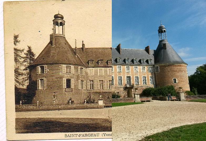 Saint-Fargeau - Le Château