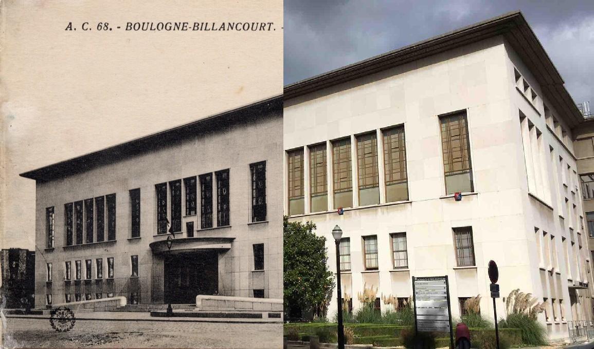 Boulogne Billancourt Crue Inondations De 1910 Carte Postale Ancienne Et Vue D 39 Hier Et
