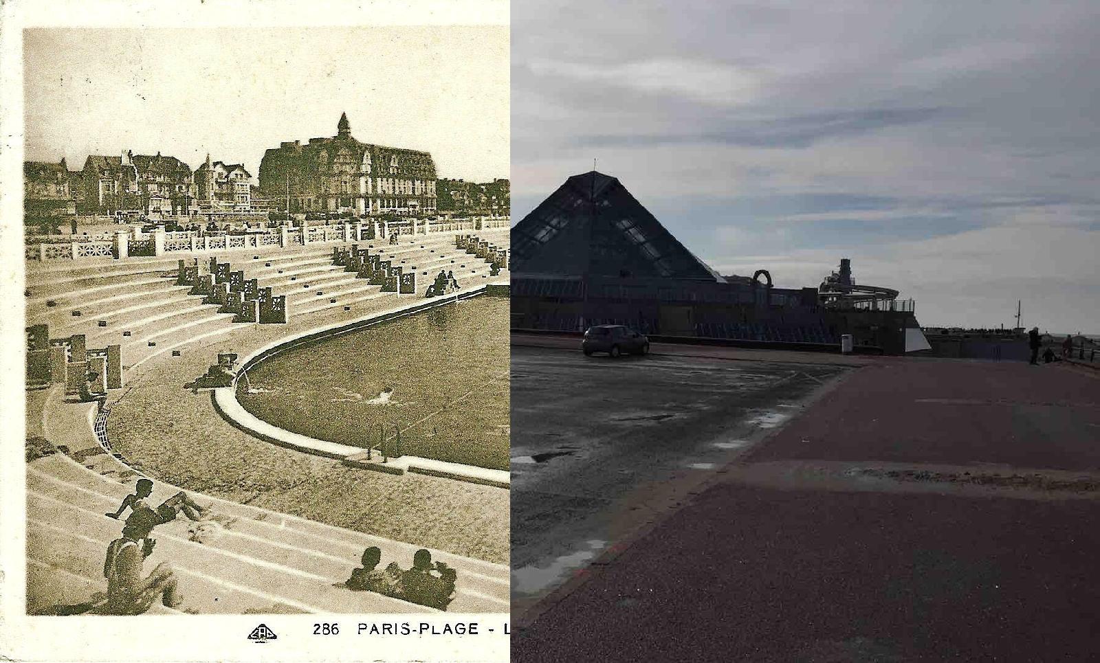 Le Touquet-Paris-Plage - Paris-Plage- La piscine Marine ( Art Déco) Le Bassin- Architecte André Bérard, inaugurée en 1931