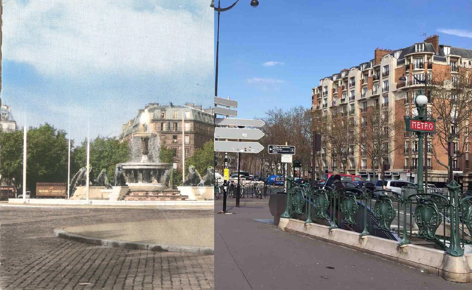 Paris - Place Félix Eboué