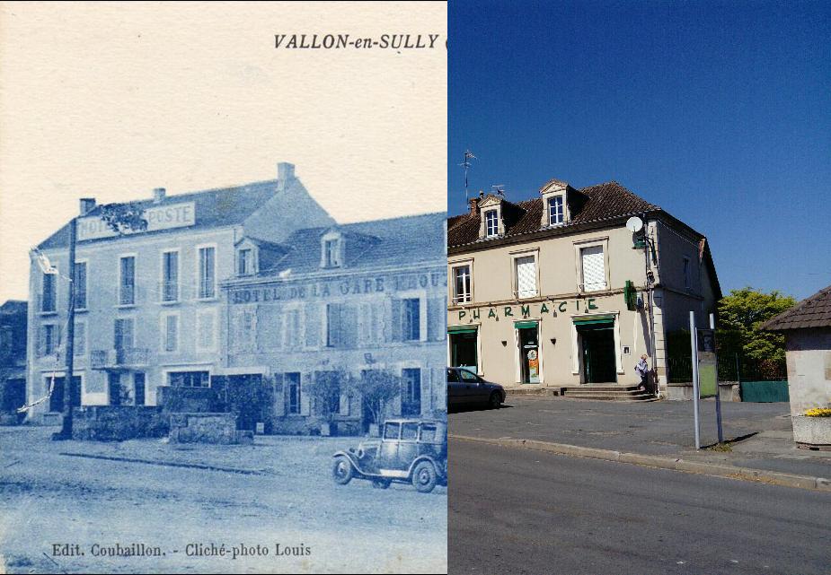 Vallon-en-Sully - VALLON EN SULLY LES HOTELS VOITURES GODIGNON