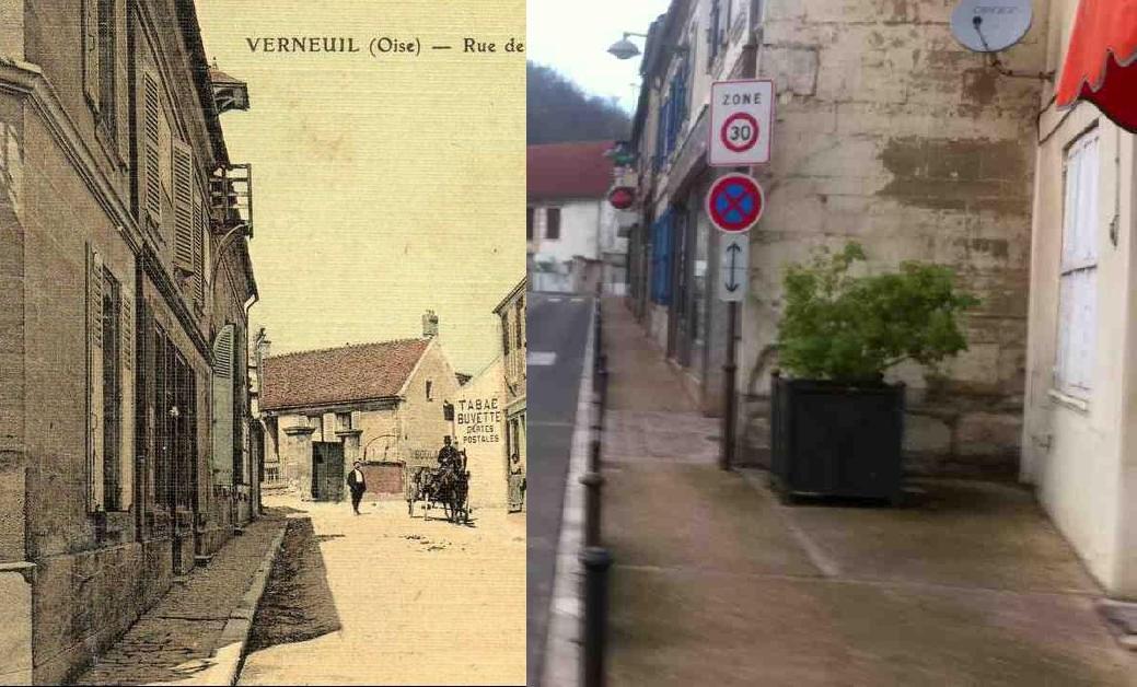Verneuil-en-Halatte - Centre du village