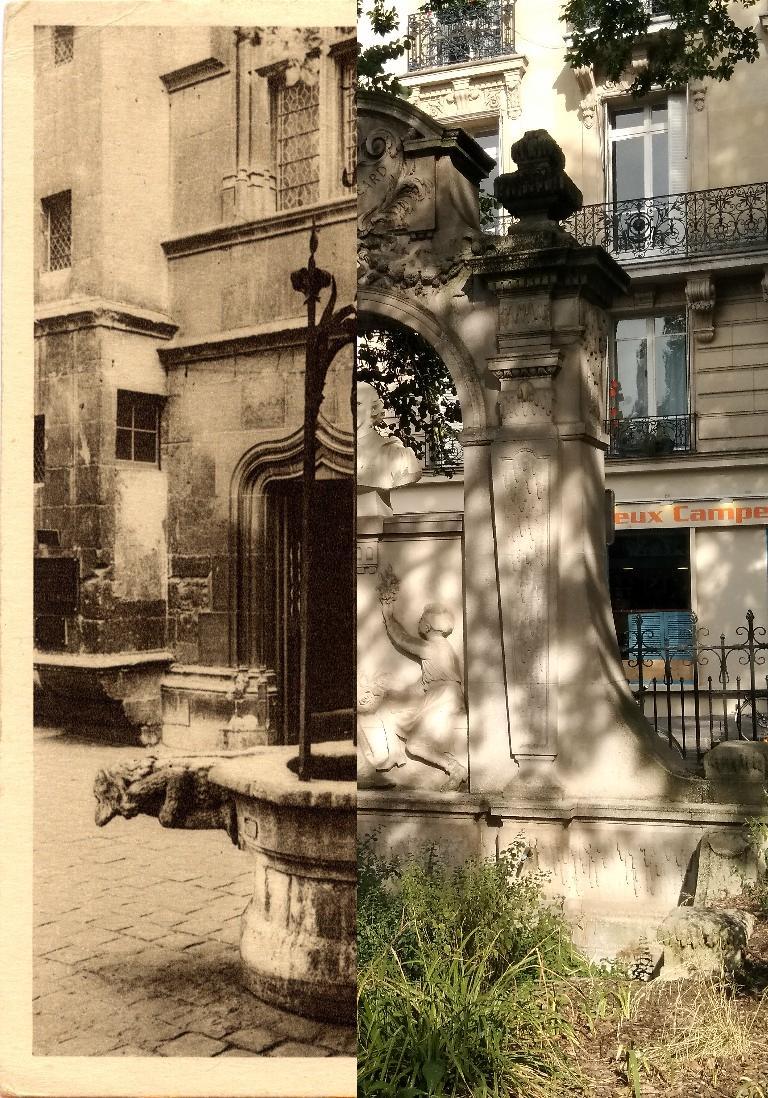 Paris - Musée de Cluny. Le Vieux Puits.