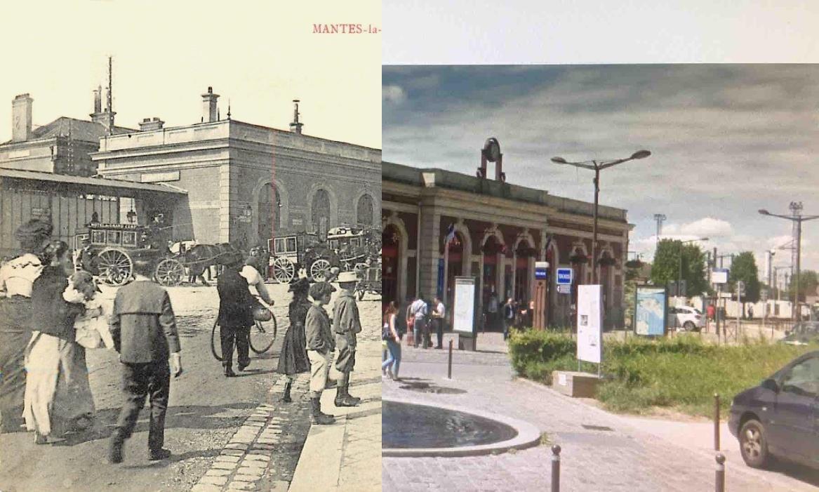 Mantes-la-Jolie - La gare de Mantes-Gassicourt (5eme vue).