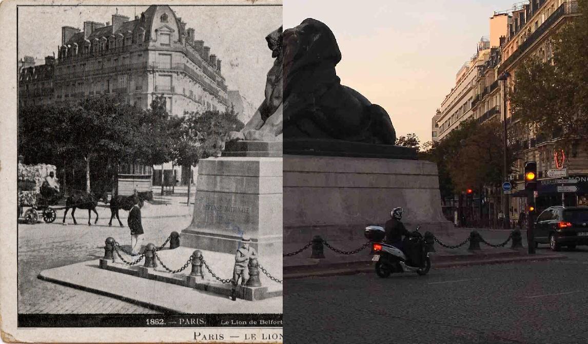 Paris - Le Lion de Belfort.