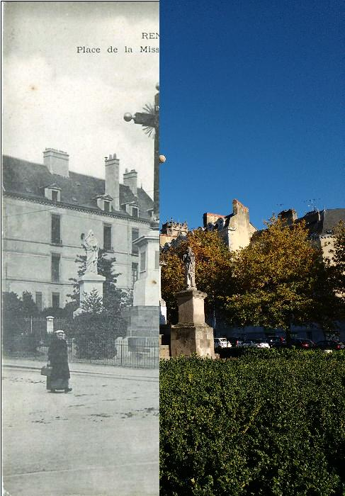 Rennes - Place de la Mission_Le Calvaire