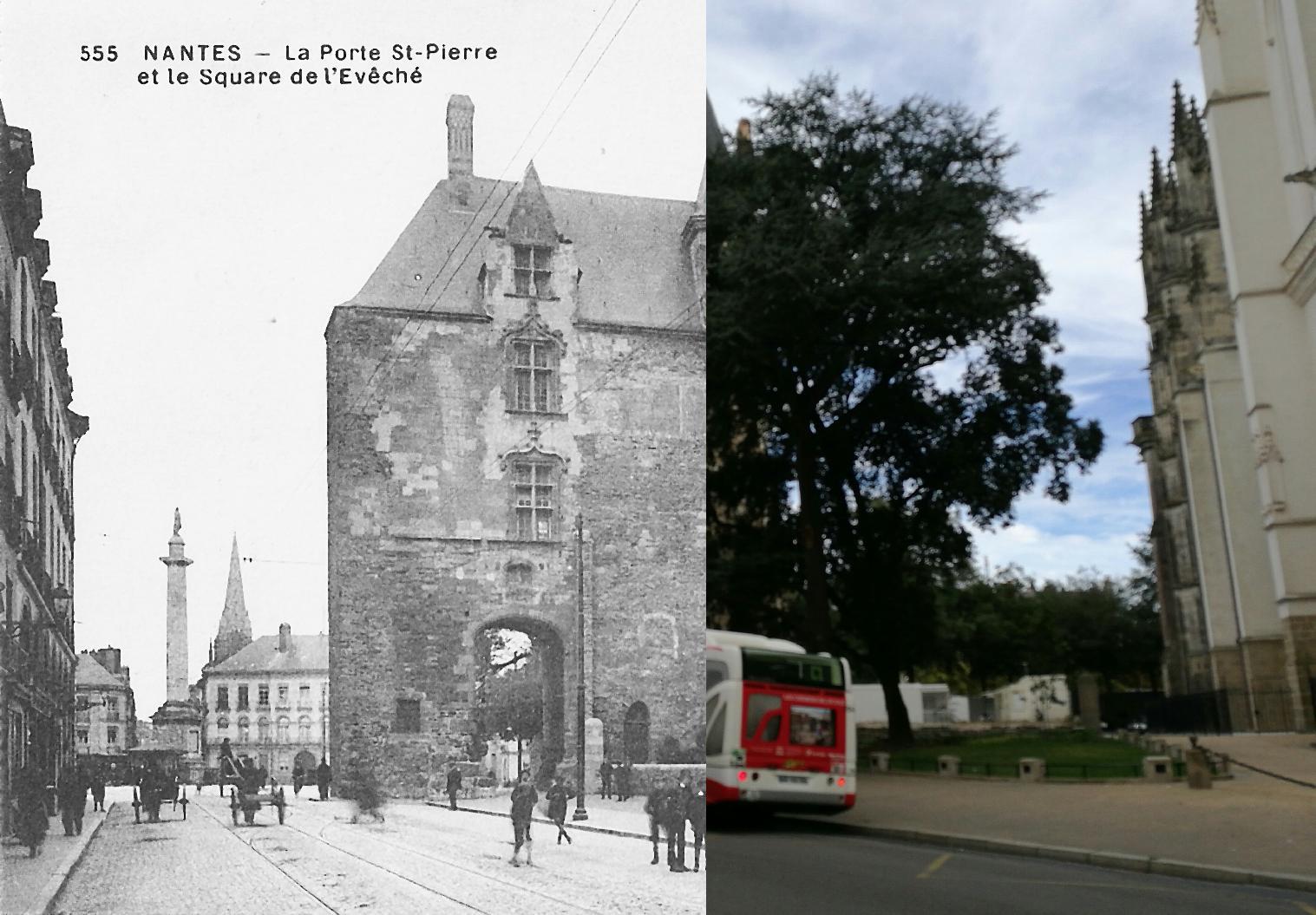 Nantes porte st pierre et square de 39 ev ch carte - Port de bouc d hier et d aujourd hui ...
